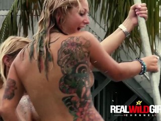 Lost Round of this Naked Wet Pussy Contest Insane Sluts!