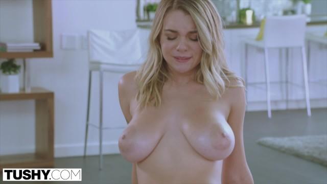 Blonde big tits tushy Tushy Gabbie Carter S Desire To Be Gaped Comes True Pornhub Com