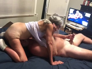 Hot Milf and Hubby 69 With Cumshot At The End Mature Granny 60 Year Old