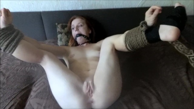 Bed girl tied up in My girlfriend