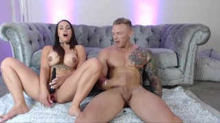Jess & Mike Masturbation Race! Who Cums First?