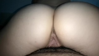 reverse cowgirl fuck close up daddys girl