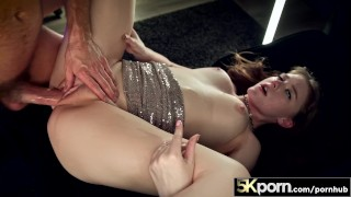 5KPorn - Busty Babe Melody Marks Facialed AND Creampied