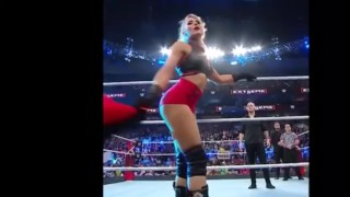 Lacey Evans Fat ass at Extreme Rules 2019