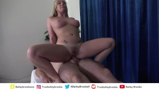 Happy Ending Massage - She Begs Me To Fill Her With Cum