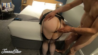 Intimate Hotel Anal Sex with Amateur Wife, Big Boobs, Curves and Big Ass :)