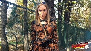 GERMAN SCOUT - DEEP ANAL FOR FASHION MODEL LIZA AT REAL STREET CASTING