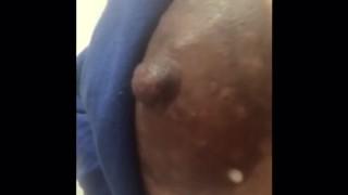 Milf Lactating Tits. Dripping milk.