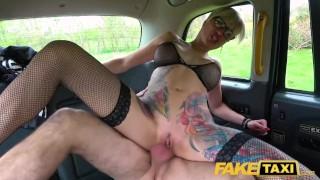 Fake Taxi Tattooed MILF Tanya Virago drains cabbies balls