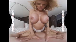 Naughty America - Joslyn James fucks you until you cum in her pussy