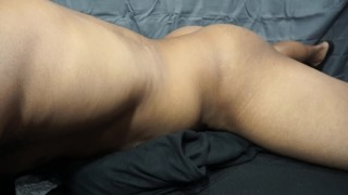 I CUM SO HARD Black Guy Dry Humping Talking Dirty and Moaning