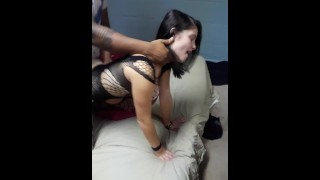 Girlfriend double teamed by BBC!