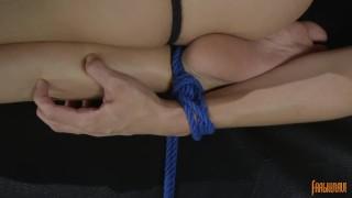 Reverse Hogtied Orgasm