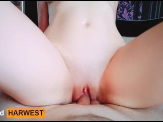 GrandHarwest. I like to cum on my boyfriend's dick.
