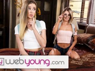 Erotische junge Lesben lieben die Muschi lecken