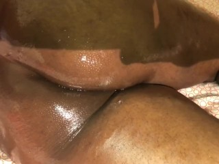 After getting fucked in my ass