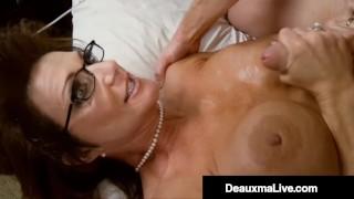 Busty Mommy Deauxma Bangs Milf Kelly Madison & Husband!