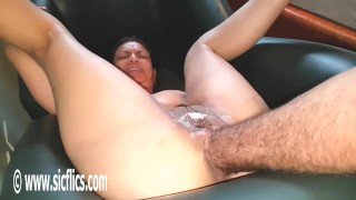 Double Fisting Both Her Greedy Ruined Holes