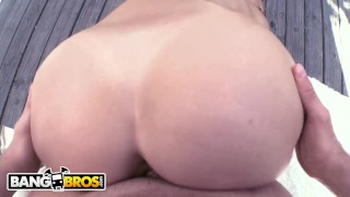BANGBROS - All Natural PAWG Karlie Montana Taking Dick From Mike Adriano