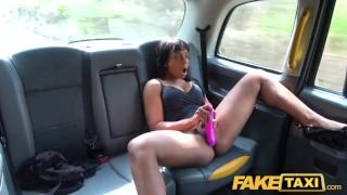 Fake Taxi Ebony horny beauty Lola Marie tests cabbies stamina