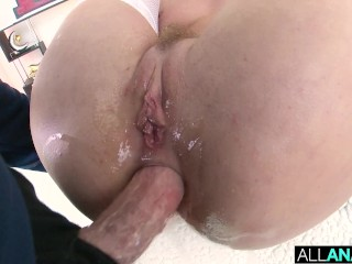ALL ANAL Messy anal creampie with Daisy Stone and Lenna Lux