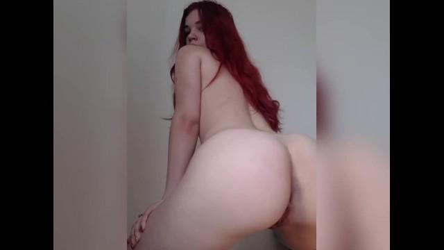 Redhead Teen Rides Cock