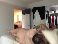 Another Sunday fun day with my hot cub vigorously sucking and fucking