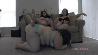 Anyone have this? Piggy Race Sarah Diavola Gia Love domme Sydney and bettie