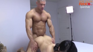Buff Gym Rat Fucks Roomates Asian Lady. DICK MOVE BRO!
