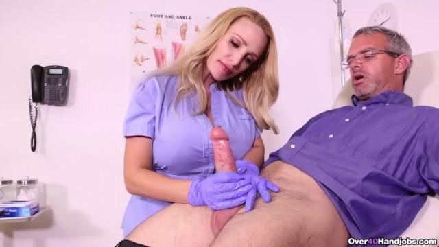 big boobs nurse handjob