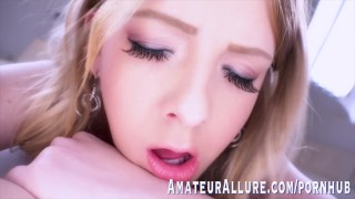 ADORABLE SHEY HOLMES IN HER FIRST SCENE EVER - AMATEUR ALLURE