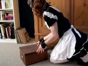 Daily chores as a sissy maid Bruninha Almeida