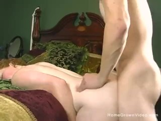 Amateur redhead ginger loves being pounded hard