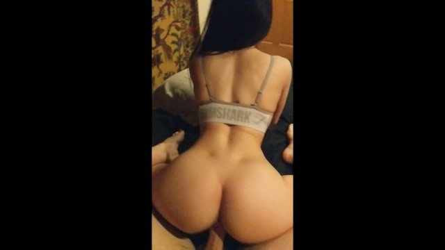 Gymshark Girl with Perfect Ass Loves Riding his Big Cock - Amateur ...