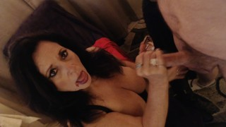 THE VAMPIRE DABBERIES- Dabatha sucks on real cock after fat dab