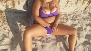 Masturbation wet pussy public. Women not can resist for play