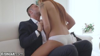 Screen Capture of Video Titled: EroticaX Fuck My Teen Pussy