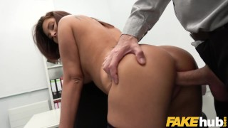 Fake Agent Anna Polina fucked in a casting interview