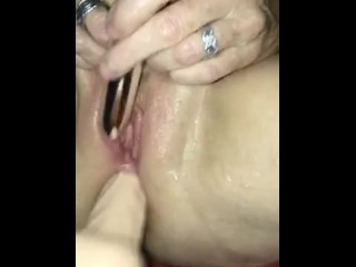 Fill my arse as I squirt cum