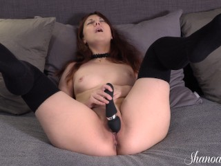 CUMMING AS MANY TIMES AS I CAN IN 10 MINUTES
