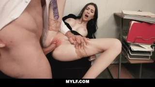 MYLF - Horny Milf Gets Creampied By Her Boss