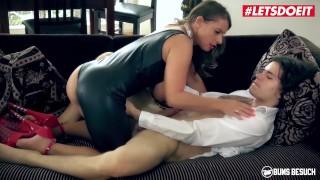 LETSDOEIT - Busty German PornStar Fucks A Lucky Fan