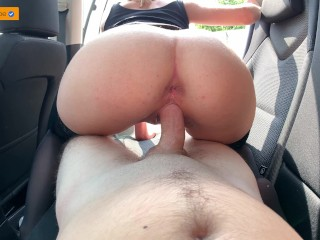 FUCKED A HARLOT IN STOCKINGS ON A JOURNEY CREAMPIE | 4K