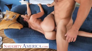 Naughty America - Horny man fucks his married neighbor!