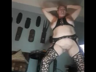 She gets so horny dancing and spreading her pussy & ass. Infatuation..