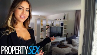 PropertySex Real Estate Agent gets Horny and Makes Sex Video with Client