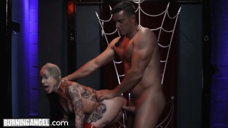 BurningAngel Joanna Angel Submits for Rough Anal & Facial