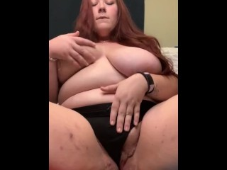Big tit bbw squirts everywhere upclose frontal view