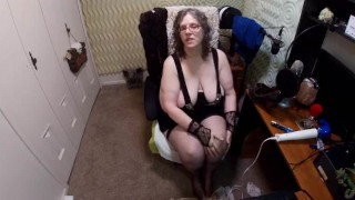 Bunny Gram's New Thigh Highs - Footy Slaves Wanted!