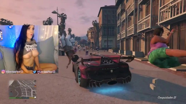 Gta porn big tits Running Ppl Over In Gta5 But Topless Cause Why Not Pornhub Com
